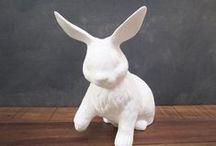 bunny love / by Red Line Design, LLC / Sarah G. Stevenson
