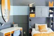 Boys bedroom / by Barb Camp -Second Chance to Dream