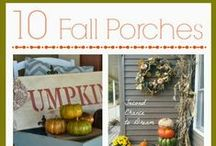 Fall decor ideas / by Barb Camp -Second Chance to Dream