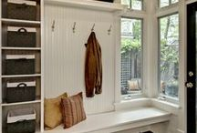 Laundry room/mudroom ideas / by Barb Camp -Second Chance to Dream