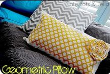 DIY Pillow Ideas / by Barb Camp -Second Chance to Dream