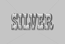Color:  Silver & White   / by Joan Nicholes