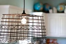 Hall Lightshade Ideas / by Kerith Schaefer