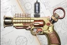 steampunk.guns / by cyn.gis