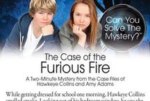 Can You Solve the Mystery? / From the Case Files of Hawkeye Collins and Amy Adams / by Meadowbrook Press