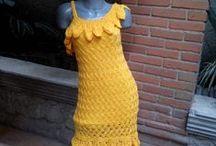 vestidos crochet / by cristina arroyo arroyo