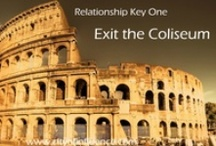 "Key #1:  Exit the Coliseum / The following quotes are taken from ""The City of Influence:  A Business Tale,"" a book which lays out the nine keys of effective relationship building.  These keys have been proven to help you build, grow, and manage your professional network.  Cut and paste this link NOW to buy ""The City of Influence:  A Business Tale"" book on Amazon: amzn.to/S0xKpi / by City of Influence"