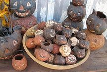Primitive fall/Halloween / by Veronica Arnold