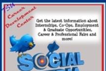 Social Media / by Tennessee State Univ Career Dev. Center
