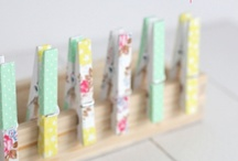 Crafting | Washi Tape / Inspiration & DIY projects using washi tape!  faves of amylizschultz.com / by Amy Schultz