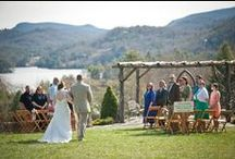 Destination Weddings / Destination weddings in the Great Smoky Mountains of Western North Carolina's Jackson County are magical. Imagine your wedding ceremony set against the mountains and lakes, or one more secluded alongside a creek or waterfall. Find your ideal wedding in Cashiers, Sylva, Dillsboro, Glenville, and Cherokee, North Carolina / by North Carolina Mountains
