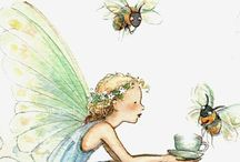 Bumble Bee Tea / the lovely art of Becky Kelly / by April Praver
