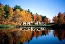FABULOUS FALL COLORS / Who can fathom the mysteries of God? Job11:7 / by Sherry Mathis
