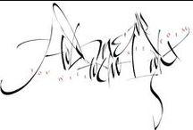 Kalligraphie14 / by Roland Stieger