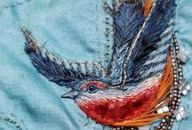 Embroidery & Stitching / by Susan Gilbert