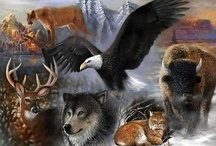 critters / animals, birds, marine life, insects, etc-i have separate boards for big cats, eagles, horses, owls, wolves, elephants... / by Gwen-Gwendell Parsons