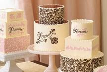 CAKES-Wedding ideas galore!!! / Wedding cakes / by Anik O'Brien