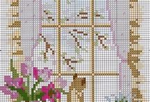 Cross-Stitch:  Cats / by RelativeRequest