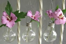 Flower vases / by Reciclare Creativa