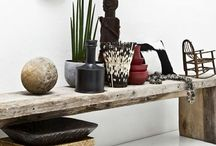 Ethnic chic / Ethnic inspiration for smart interiors / by Murs et Merveilles by Marie