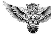 Tattoo Ideas / These are all pictures of possible tattoos I want / by Brandon Simpson