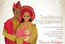 Sylvia + Bolaji : Traditional / Yoruba Traditional Wedding/ Engagement Ceremony / by Olori Lola Haroun