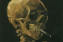 Art-Macabre  / Skulls, death, hereafter, evermore / by Roxanne Buchanan