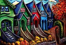 Art-The City Draw / by Roxanne Buchanan