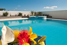 Luxury Retreat / Villa Belvedere is a holiday home which its name implies for 'villa with beautiful views'.  ideal retreat for romantic getaways, family gathering or weddings in malta / by HolidayLettingMalta