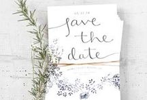 WEDDING INVITATION / by Audrey Hep