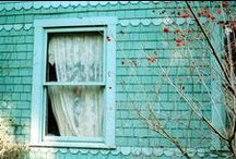 ❥ Little Turquoise Cottage / by Lady Anne's Charming Cottage