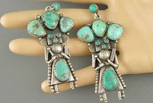 TURQUOISE OBSESSION / Turquoise and Silver Jewelry / by mary schmidt