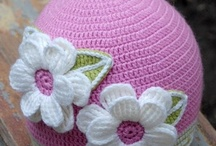 crocheted hats / by Jane Hout