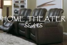 Home Theater Seats / Our beautiful collection of home theater recliner seats from the top brands in the industry. / by HomeTheater Gear