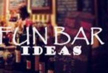 Fun Bar Ideas / by HomeTheater Gear