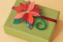 Christmas Gift Wrapping / all things for wrapping Christmas gifts / by Tamara Key
