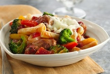 Karen's Pasta Dishes  / Nothing better than pasta period. Comfort food, calories who cares its Pasta.. :)
