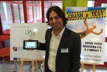 Crash Test 2014 - présélection régionale Denain #pepite #RuchesNDF  / Présélection organisée à la Ruche d'Entreprises de Denain / by Maison Entrepreneuriat