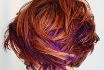 Cut and Color Me / Hair cuts and colors I like / by Linda Rittelmann