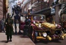 Steampunk / by David McGuire