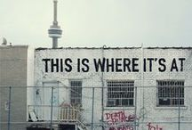Toronto! / For Many Canadians, Toronto is 'Where it's at!' / by Mabel Kathleen
