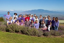 Smiling Happy Faces / A collection of the random happy people that find themselves enjoying the Ali'i Kula Lavender farm. / by Ali'i Kula Lavender