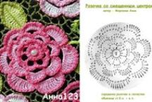 Roses \ crochet & knitting \ / Roses from everywhere... Here U can find tutorials and a lot of rose variants / by Lucy286