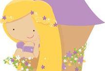 Rapunzel Printables / by Sara Grilo
