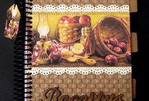 receitas / by Daniela P Bressan L