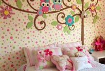 Lyla's room / Creating an amazeballs room for little Lyla / by Annabel Porter