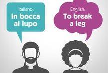 IMPARARE L'ITALIANO (Learn Italian) / Please limit pins to 10 a day! Mille grazie!  / by Dominique