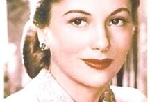 MY JOAN F.  10/22/1917-12/15/2013 / aka Joan de Beauvoir de Havilland. Sister of Olivia de Havilland. / by bob spear