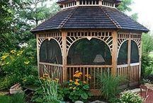 Gazebos and Porches / by Lynne Golden Beckham