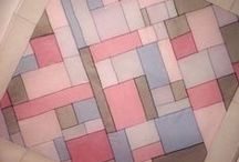 Rectangular Color / blocks rectangles squares tiles / by Janet Sternberg